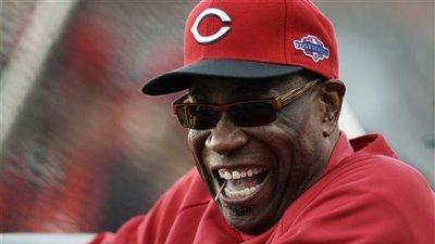 Reds Baker Baseball
