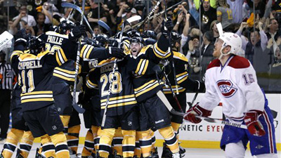 Relive the 2011 Bruins' Incredible Overtime Game 7 Victory Over the Canadiens Friday on NESN