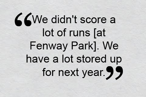 Red Sox Cap Forgettable Season at Fenway Park With Prolonged Power Outage