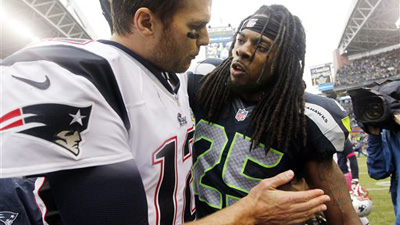 Richard Sherman's Elite Play at Cornerback Justifies Taunts to Tom Brady After Seahawks Win Over Patriots