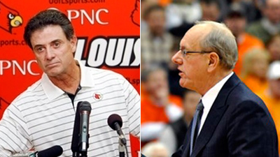 Jim Boeheim and Rick Pitino Each Think the Other Is 'Full of [Expletive]'