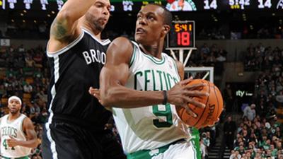 Brooklytn Nets  v Boston Celtics