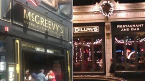 Are Dillon's Back Bay Fries and Gravy or McGreevy's Pub Pretzel-n-Cheese the Better Sports Bar Dish?