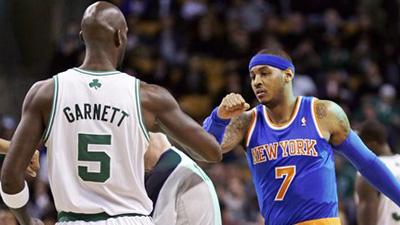 Kevin Garnett, Carmelo Anthony