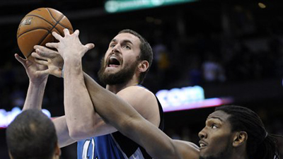 Kevin Love, Kenneth Faried