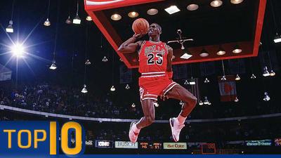 Michael Jordan Top 10
