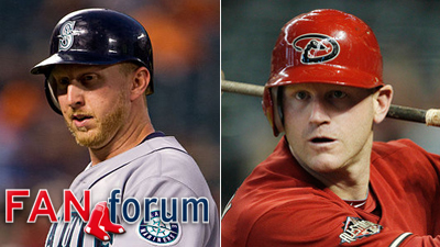 Mike Carp Lyle Overbay