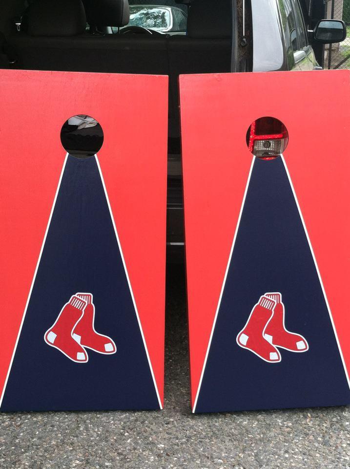 Red Sox cornhole