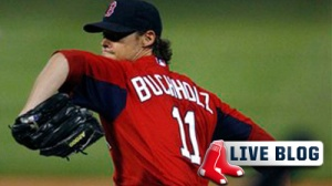 Red Sox-Twins Live: Clay Buchholz, Sox Secure Mayor's Cup With 6-1 Win Over Twins