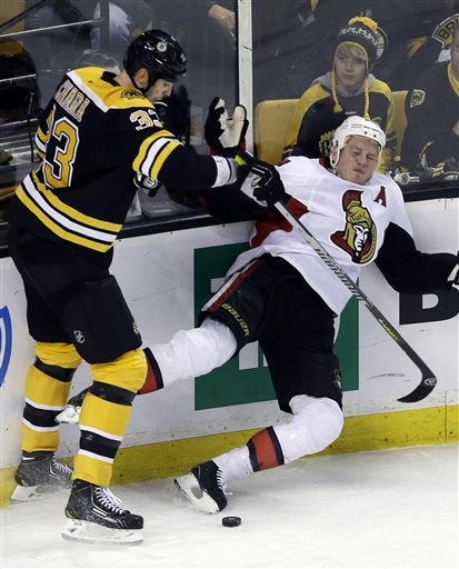 Zdeno Chara, Chris Neil