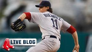Red Sox-Yankees Live: New York Threatens Late, But Pitching of Clay Buchholz Leads Sox to 7-4 Win
