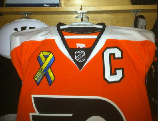 Flyers patch