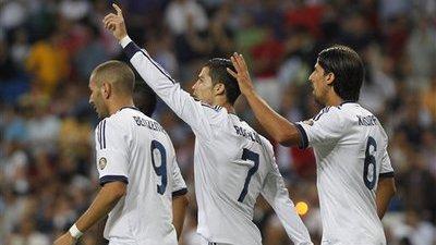 Cristiano Ronaldo, Karim Benzema, Gonzalo Higuain
