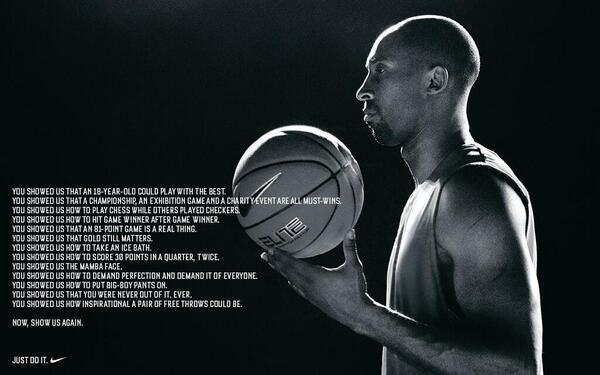 Kobe Bryant ad