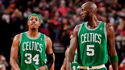 Paul Pierce Kevin Garnett