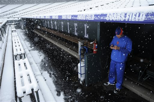 Mets Rockies Baseball
