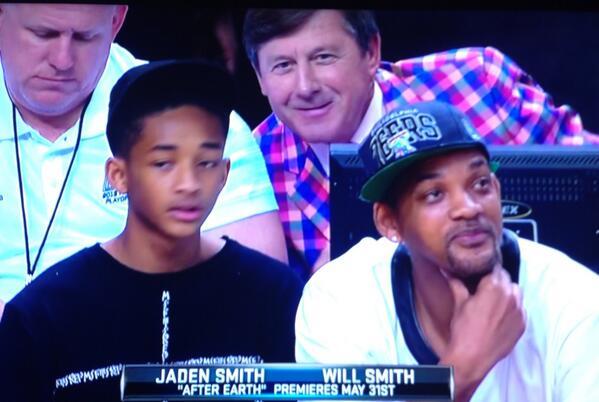 Craig Sager Jaden Smith Will Smith