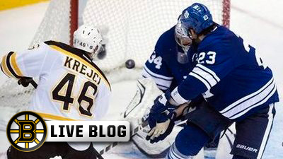 David Krejci live blog