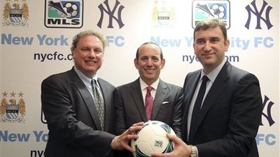 Randy Levine, Don Garber, Ferran Soriano