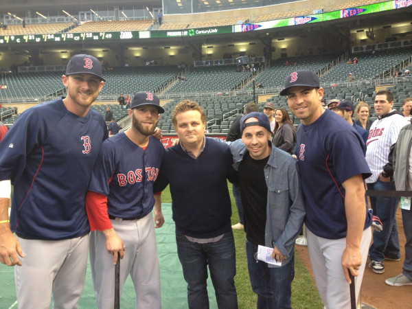 Imsa Live Stream >> Red Sox Players Hang Out With Hambino, Squints From 'The ...