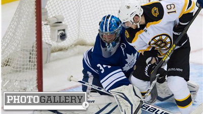Tyler Seguin, James Reimer photo gallery