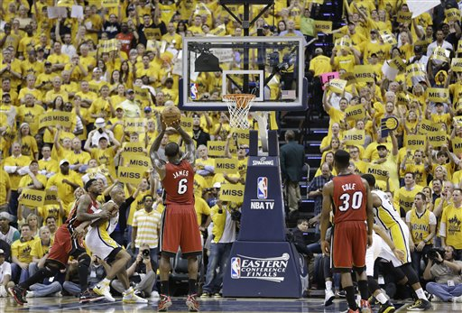 APTOPIX Heat pacers Basketball