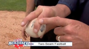 Red Sox Academy: Bob Stanley Teaches How to Throw a Two-Seam Fastball