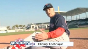 Red Sox Academy: Dick Berardino Demonstrates the Proper Sliding Technique
