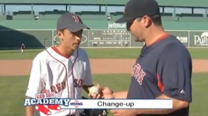 Red Sox Academy: Keith Foulke Shows How to Throw His Signature Changeup