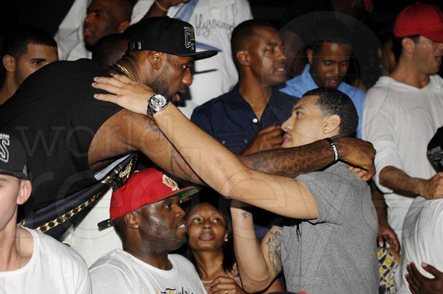 Danny Green Spotted At Club With Lebron James During Heat S Championship Celebration Photo Nesn Com