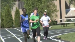 Visually Impaired Athletes Run Against All Odds in Regional Track Tournament (Video)