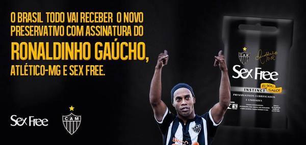 Ronaldinho condoms