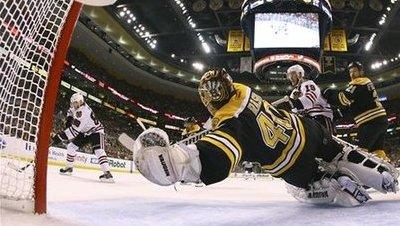APTOPIX Stanley Cup Blackhawks Bruins Hockey