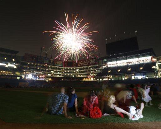 Mariners Rangers Baseball Fourth of July