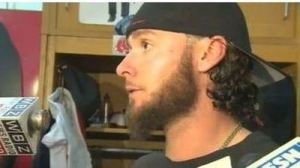 Jarrod Saltalamacchia Says Craig Breslow Has Been 'Tough All Season,' Can Be Used in 'Every Situation' (Video)