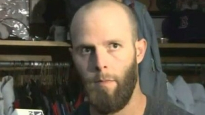 Dustin Pedroia Says Red Sox' Work Is Not Done, Will Celebrate After Winning Division (Video)