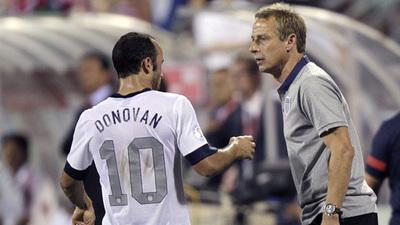 Jurgen Klinsmann, Landon Donovan