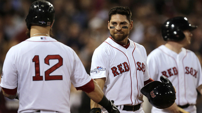 Jacoby Ellsbury, Mike Napoli