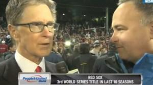 John Henry Praises Red Sox Pitchers, John Farrell, Says Parade Will Take Place Saturday (Video)