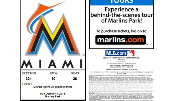 Marlins ticket fail