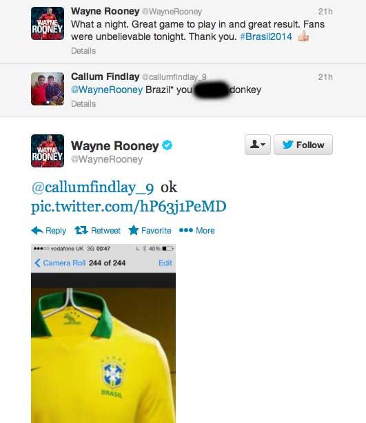 Rooney troll