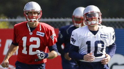 Tom Brady, Austin Collie
