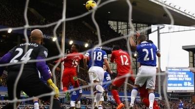 Daniel Sturridge Merseyside derby equalizer
