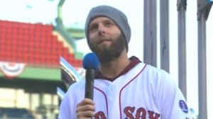 Dustin Pedroia Says Red Sox Should 'Do This Every Year,' Says He'll Probably Shave Beard (Video)