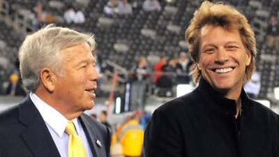 Jon Bon Jovi, Robert Kraft