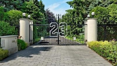 Jordan Mansion Gates