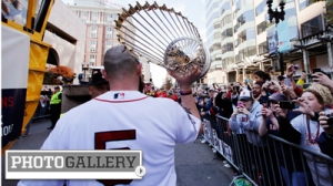 Boston Red Sox Spend Day Celebrating Eighth World Series Title With Rolling Rally Parade Through Boston (Photos)
