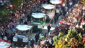 Red Sox 2013 victory parade scenes