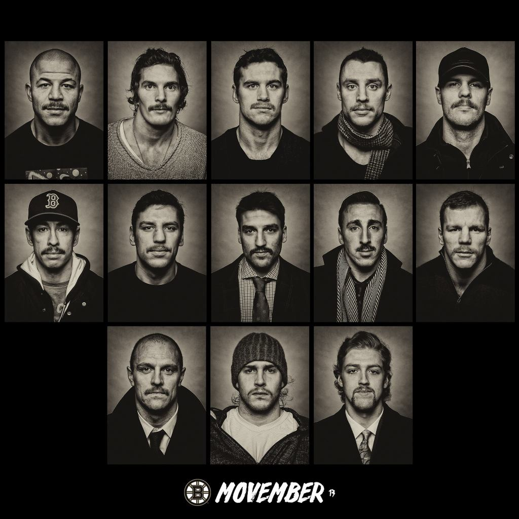 bruins movember