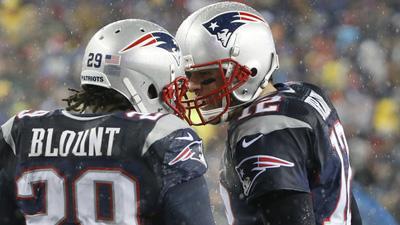 Tom Brady, LeGarrette Blount